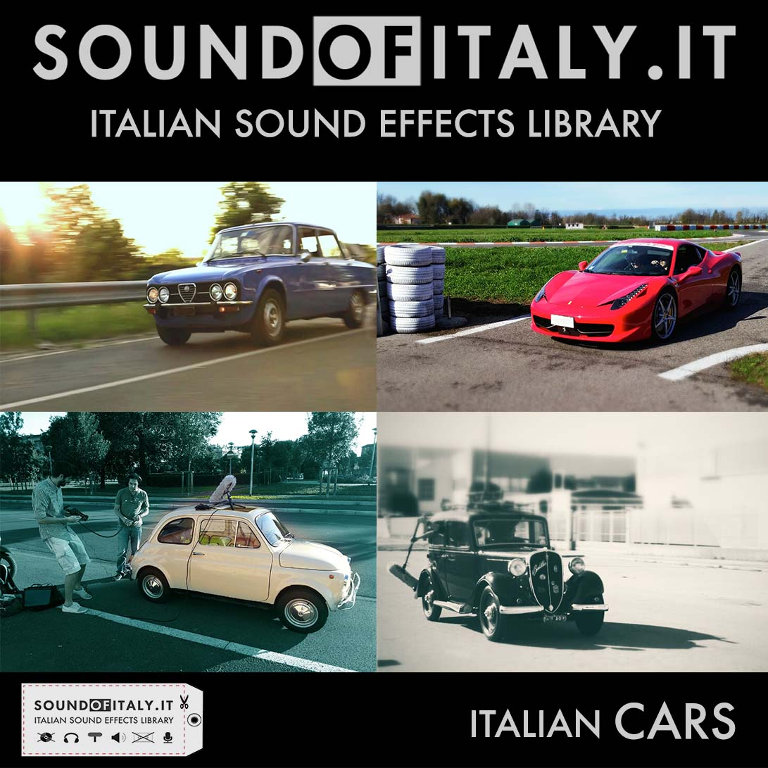 SOUND OF ITALY - CARS - italian sound effects library