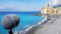Sound of Italy sea Camogli